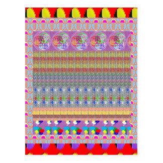 MAGIC Graphic Art Carpet Collage NVN188 NavinJOSHI Postcard