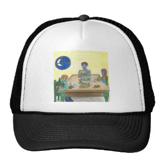 Magic Green Cup Dinner Trucker Hat