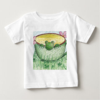 Magic Green Cup Frog Baby T-Shirt