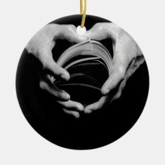 Magic Hands Ceramic Ornament
