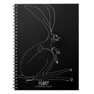 magic hare spiral notebook