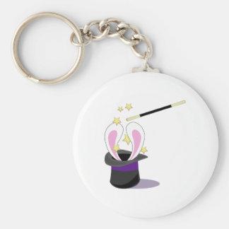 Magic Hat Basic Round Button Key Ring