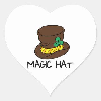 Magic Hat Heart Stickers