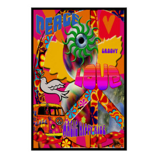 Magic Hippy Ride Poster