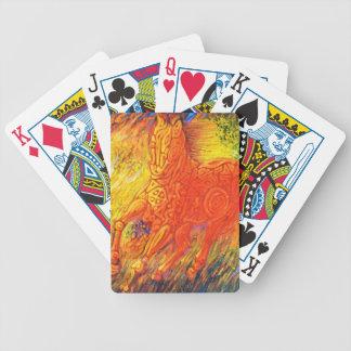 MAGIC HORSE GALLOPING BICYCLE PLAYING CARDS