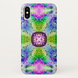 Magic Hummingbird Watercolor Mandala Case