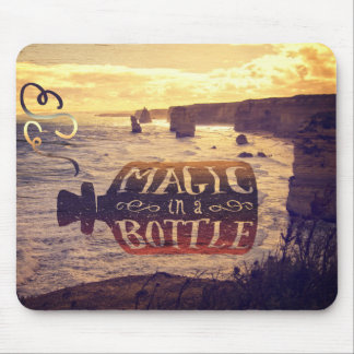 Magic in a Bottle Twelve Apostles Great Ocean Road Mouse Pad