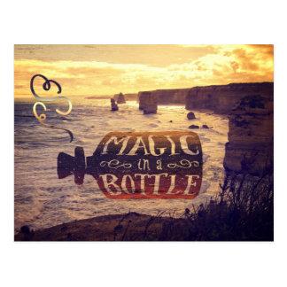 Magic in a Bottle Twelve Apostles Great Ocean Road Postcard