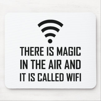 Magic In The Air Is Wifi Mouse Pad