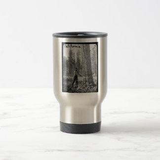 Magic Lantern Lumberjack Logging in Butte Valley Travel Mug