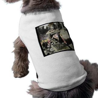Magic Lantern Slide Fakir India on a Bed of Nails Sleeveless Dog Shirt