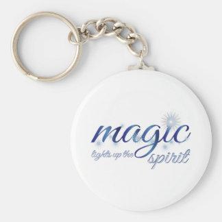 Magic Light Up The Spirit Keychain