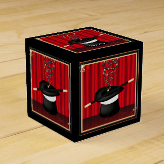 Magic Magician Event Custom Party Favor Box