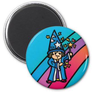 magic magnet. 6 cm round magnet