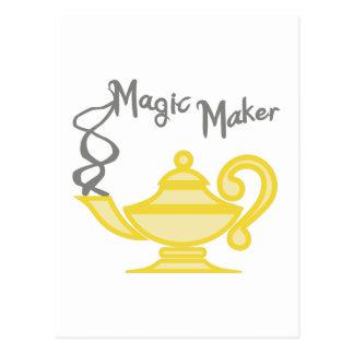 MAGIC MAKER POSTCARD