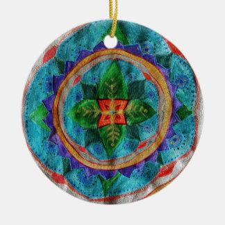Magic Mandala Circle Ornament