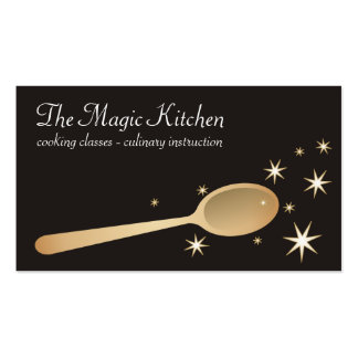 magic mixing spoon cooking baking business card... pack of standard business cards