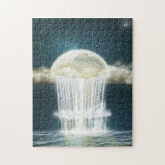 Magic Moon Waterfall Puzzle