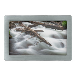 Magic Mountain Stream Rectangular Belt Buckles