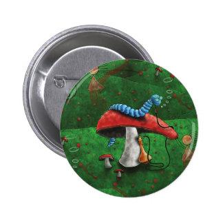Magic Mushroom 6 Cm Round Badge