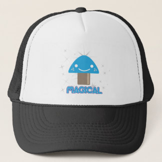 Magic Mushroom Kawaii Trucker Hat