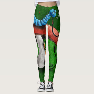 magic mushroom leggings