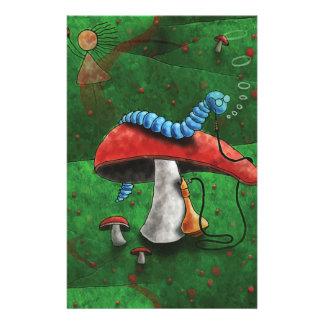 Magic Mushroom Personalized Stationery