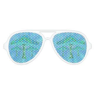 Magic Mushrooms Aviator Sunglasses