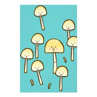 Magic Mushrooms Doodle Art Customised Stationery