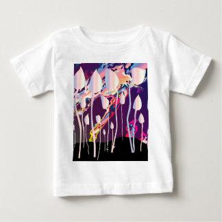 Magic Mushrooms Jazz Background Baby T-Shirt