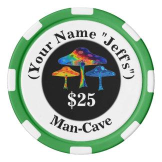 Magic Mushrooms Poker Chips