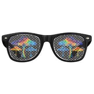 Magic Mushrooms Retro Sunglasses