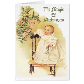 Magic of Christmas Card