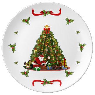 Magic of Christmas Plate