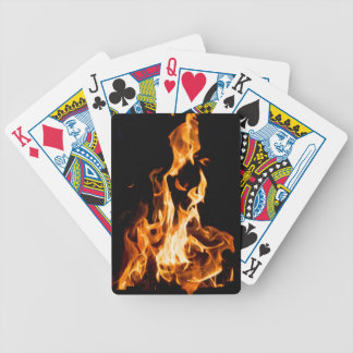 Magic of fire bicycle playing cards