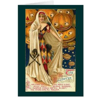 Magic of Halloween Card