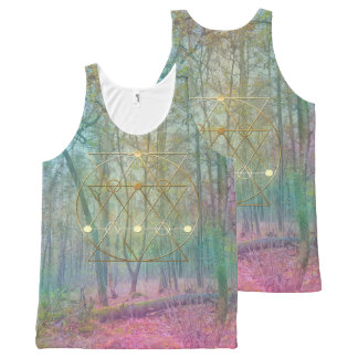 Magic or the Woods All-Over Print Singlet