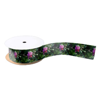 Magic orchid satin ribbon