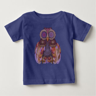 Magic owl.Collage with lace and feathers Tee Shirts