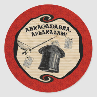 Magic Party Abracadabra Sticker