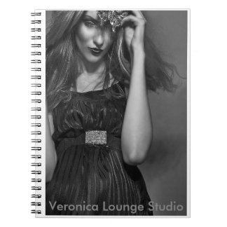 """Magic"" - photograph Notebook by Veronica Lounge"