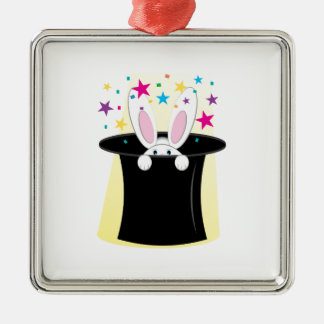 Magic Rabbit Christmas Ornament