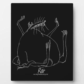magic rat plaque