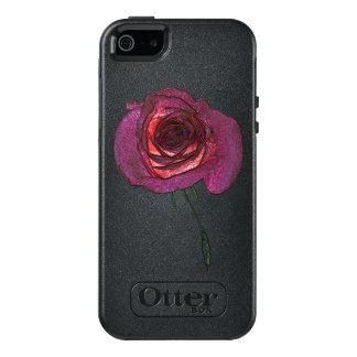 Magic Rose Apple iPhone SE/5/5s  Case, Black