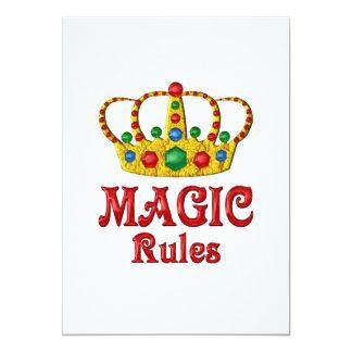 MAGIC RULES CARD