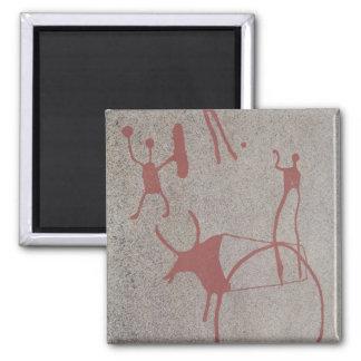 Magic scenes square magnet
