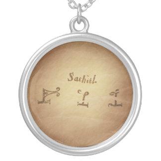 Magic Seal Angel Sachiel Protection Magic Charms Pendant