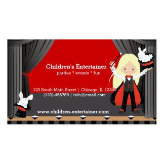 Magic Show Business Card Templates