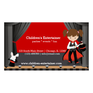 Magic Show Business Cards