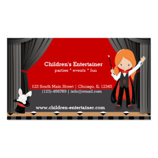 Magic Show Pack Of Standard Business Cards